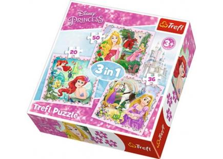 Принцессы 3в1 арт.34842