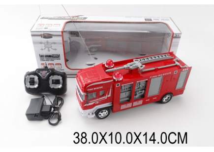 Camion de pompieri pe RC (baterie) Art.32092