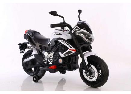 Motocicletă  ELECTRICE  12V  alb