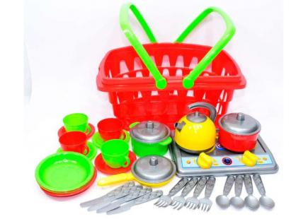 """Bucătărie de jucărie """"Galinka 10 TechnoK"""", art. 1172"""