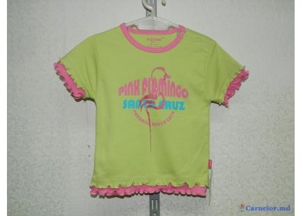 Майка для девочки pink flamingo