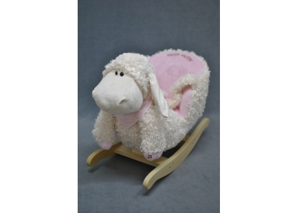 Кресло качалка овечка 105