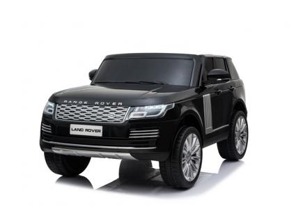 Mașină  cu acumulator Land Rover neagră