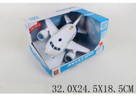 Самолёт музыкальный Арт .47348