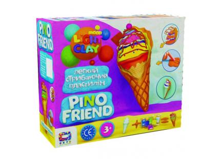 Set de plastilină ușor de sărit Pino Friend Aisi TM Moon light clay art.70039