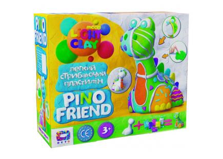 Set de plastilină pentru sărituri ușoare Pino Friend Bard TM Moon light clay art.70036