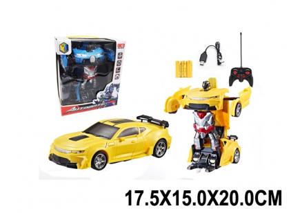 Robot-transformator pe RC cu baterie Art.85360