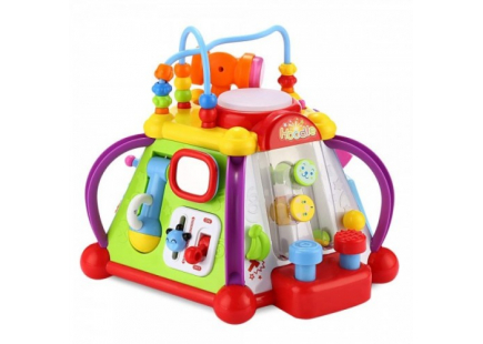 PIRAMIDA CU ACTIVITATI CU SUNETE SI LUMINI Hola toys
