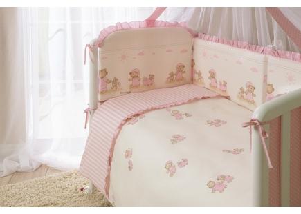 Комплект в кроватку Тиффани роз ТМ Perina 3 предмета