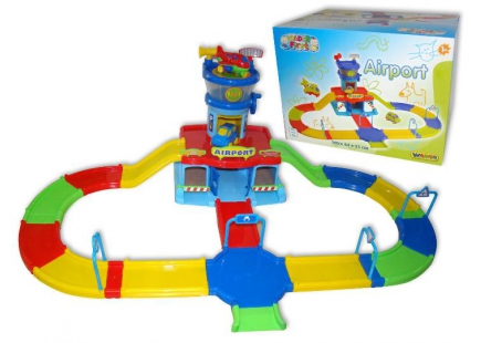 """Аэропорт """"Play City"""" с дорогой (390x290x290 мм) Арт.40404"""