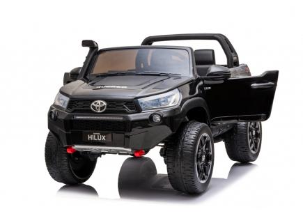 Mașină  cu acumulator Toyota Hilux neagră