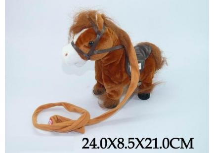 Лошадка музыкальная ( ходит)