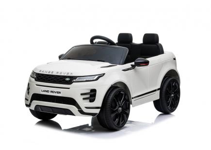 Mașina cu acumulator Range Rover White
