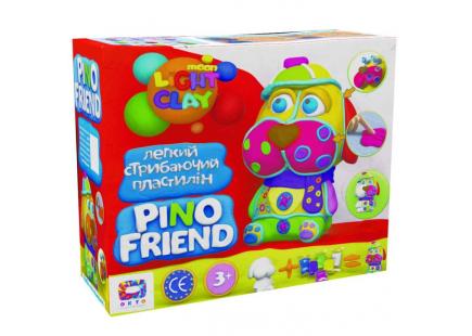 Set de plastilină pentru sărituri ușoare Pino Friend Fred TM Moon light clay art.70035