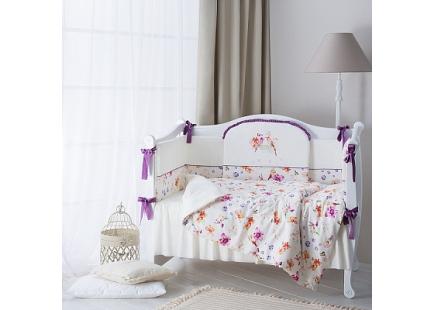 Комплект в кроватку Акварель ТМ Plitex