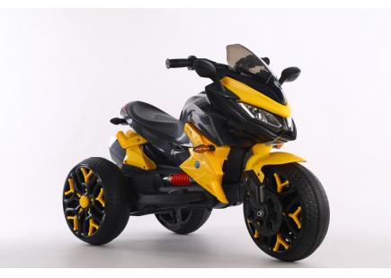 Motocicletă  ELECTRICE  12V  galben