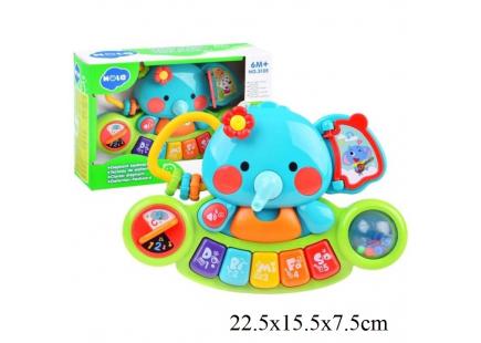 """Jucăria educativă """"Piano Elephant"""", Hola, art.3135"""