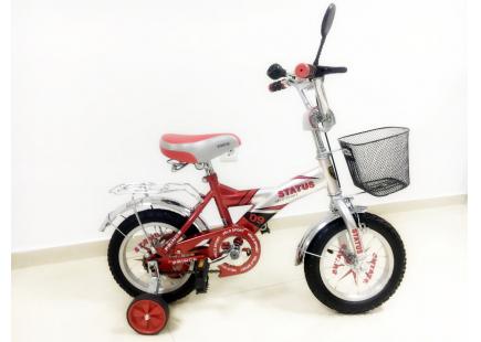 """Bicicletă * Status * 2 roți 12 """"(roșu)"""