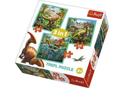 Lumea neobișnuită a dinozaurilor 3 în 1 art.34837