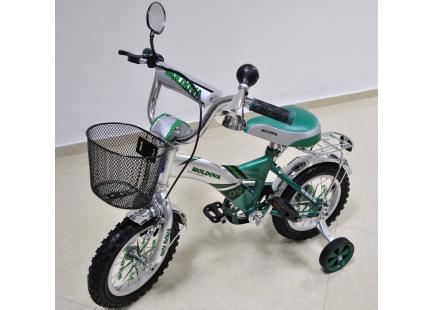 """Bicicletă * Status * 2 roți 16 """"(verde)"""