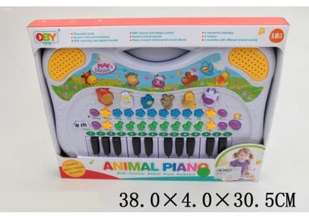 Пианино со звуками животных Арт .17688