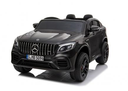 Mașină cu acumulator Mercedes Benz neagră
