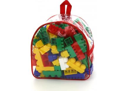 """Конструктор """"Супер-Микс"""" (144 элем. в рюкзаке)(Полесье)Арт.8039"""