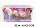 Лошадь с каретой (ходит) Арт . 84187
