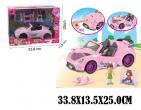 Mașină pentru păpuși (set)