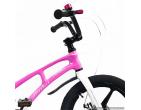 Bicicletă pentru copii Magnesium SPACE 18 PINK/ WHITE