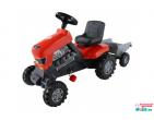 """Tractor cu pedale """"Turbo"""" cu semiremorcă (Polesie) art.52681"""