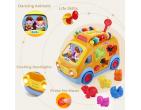 Jucărie logică muzicală  autobuz distractiv art.988