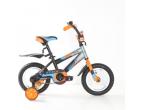 Bicicleta Mustang Stitch* 12″ Orange/Blue