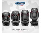 SCAUN AUTO 1-2-3 VIA PEG-PEREGO Licorici