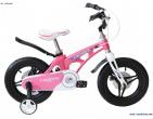 Bicicletă pentru copii Magnezium 14 WHITE/ PINK
