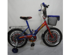 BICICLETA *CARS * INCH 14 BLUE/RED
