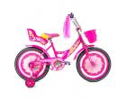 """Bicicletă  CROSSER  GIRLS Pink 14"""""""