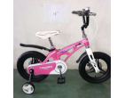 "BICICLETĂ MAGNESIUM CROSSER 18 ""WHITE/ PINK"
