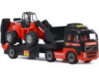 """MAMMOET VOLVO"", remorcă + tractor-încărcător (Polesie) art.56733"