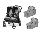 Carucior Peg Perego, Book For Two cinder