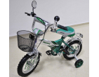 "Велосипед *Status*2-х колёсный 12"" (зелёный) Арт. ST12"